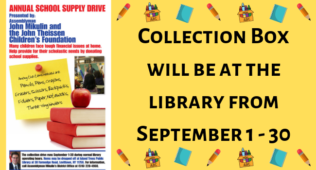 The Island Trees Public Library — A Little Library With A
